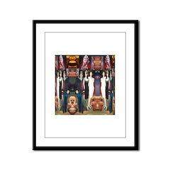 TAL Morphing Framed Panel Print