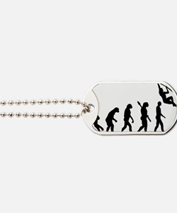 Evolution Pole vault Dog Tags