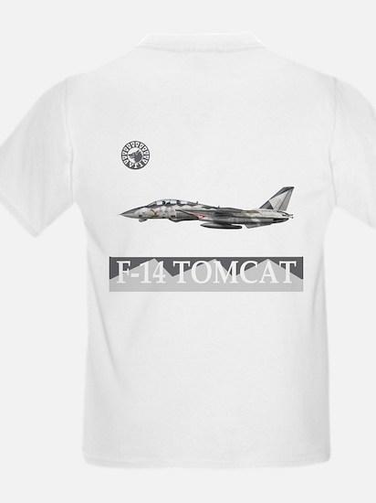 F-14 Tomcat VF-1 Wolfpack Kids T-Shirt