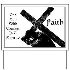 Faith Yard Sign