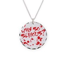serious Necklace Circle Charm