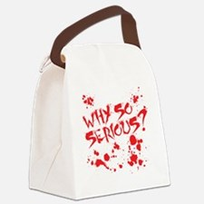 serious Canvas Lunch Bag