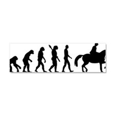 Evolution Riding Car Magnet 10 x 3
