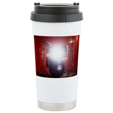 Drum kit in music studio with l Thermos Mug