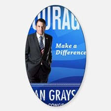 Courage: Make a Difference. Decal