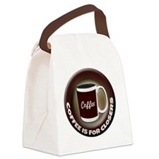 Coffee is for Closers Canvas Lunch Bag