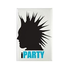 iParty Rectangle Magnet
