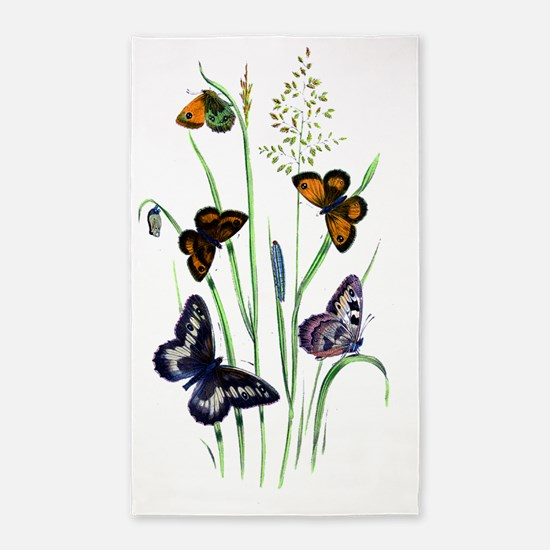 Butterfly 19 3'x5' Area Rug