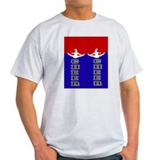 Cheer Blue and Red T-Shirt