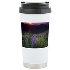 Monterey Bay sunset. Travel Mug