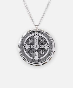 Medal of Saint Benedict Necklace