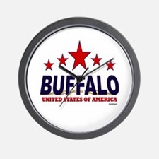 Buffalo U.S.A. Wall Clock