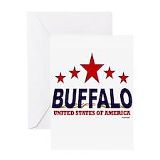 Buffalo U.S.A. Greeting Card