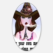 Diva of a Cowgirl Decal