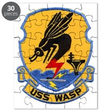 uss wasp cvs patch transparent Puzzle