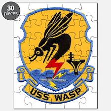 uss wasp cvs patch transparent Puzzle