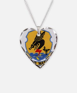 uss wasp cvs patch transparen Necklace