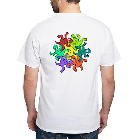Escher Quincys White T-Shirt