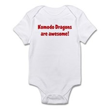 Komodo Dragons are awesome Infant Bodysuit