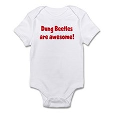 Dung Beetles are awesome Infant Bodysuit