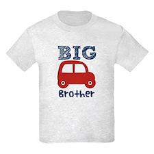 Boys Big Brother Car 4 Light T-Shirt