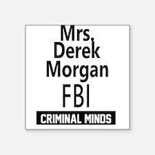 Mrs Derek Morgan Sticker