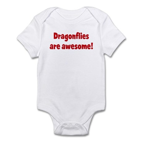 Dragonflies are awesome Infant Bodysuit