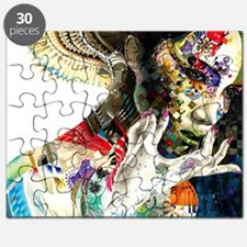 Abstract Natural Beauty Puzzle