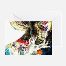 Abstract Natural Beauty Greeting Card
