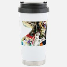Abstract Natural Beauty Stainless Steel Travel Mug
