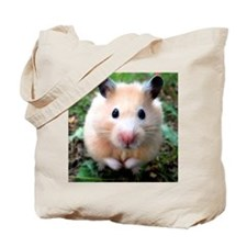 Syrian hamster outdoors Tote Bag