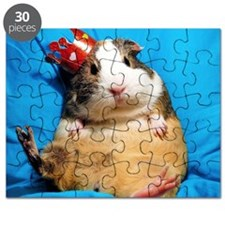 Guinea pig wearing a crown Puzzle