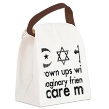 imaginary friends Canvas Lunch Bag