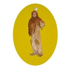 Lion Holiday Ornament (Oval)