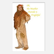 Lion Holiday Postcards (Package of 8)