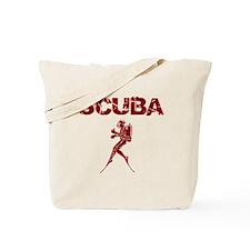 SCUBA MAN Tote Bag