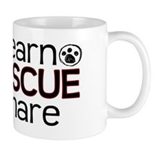 Learn Share Rescue Mug