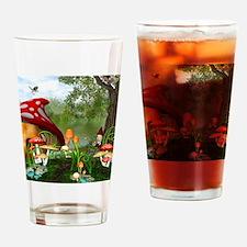 Dwarves Land Drinking Glass
