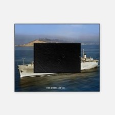 uss acadia small poster Picture Frame
