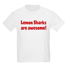 Lemon Sharks are awesome Kids T-Shirt