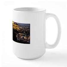 Night view of the Acropolis II Mug