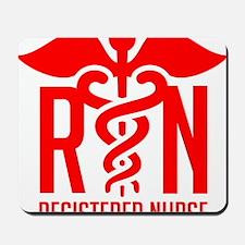 RN - Registered Nurse Mousepad