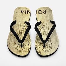 Vintage Romania Flip Flops
