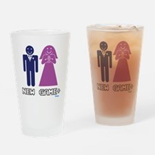 New Game Plus Marriage Drinking Glass