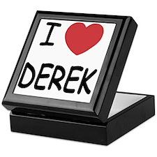 I heart DEREK Keepsake Box