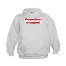 Whooping Cranes are awesome Hoodie