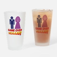 Game Over Marriage Yeaaah! Drinking Glass