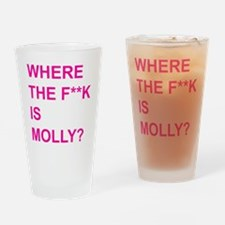 Molly? Drinking Glass
