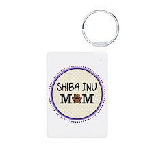 Shiba Inu Dog Mom Keychains