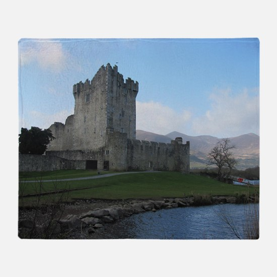 Ross Castle Throw Blanket